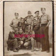 Militaria: GUERRA CIVIL : FOTO DE MILITARES O MILICIANOS , NACIONALES O REPUBLICANOS ?, 70X88MM. Lote 166295094