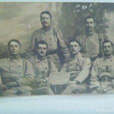 Militaria: I ª GUERRA MUNDIAL : FOTO MILITARES FRANCESES, ALGUNOS CONDECORADOS . FRANCIA. Lote 166680370