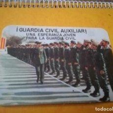 Militaria: PEGATINA GUARDIA CIVIL AUXILIAR UNA ESPERANZA JOVEN PARA LA GUARDIA CIVIL. Lote 166700690