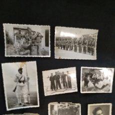 Militaria: LOTE 8 FOTOGRAFIAS MILITARES.. Lote 166828514