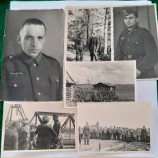 Militaria: WW2. ALEMANIA. LOTE 8 FOTOFRAFIAS ORIGINALES ALEMANAS DE LA WW2. Lote 167001352