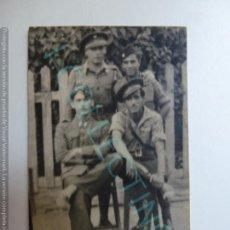 Militaria: FOTOGRAFÍA ANTIGUA ORIGINAL. SOLDADOS. MADRID 20 DE JULIO DE 1939 (5,5 X 4 CM). Lote 167324132