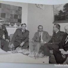 Militaria: VALENCIA. VISITA DEL GRUPO DE LA BASE DE GETAFE. 1972. DISTINTOS MANDOS Y RESPONSABLES.. Lote 167613024