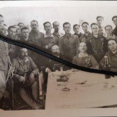 Militaria: FOTOGRAFÍA DE LEGIONARIOS ENTRE ELLOS MILLÁN ASTRAIN Y FRANCO, AÑO 1922, FOTÓGRAFO ROS TETUÁN. Lote 167846881