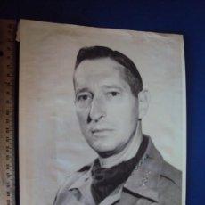 Militaria: (PA-190620)FOTOGRAFIA CON AUTOGRAFO DE GENERAL NORTEAMERICANO MARCK CLACK LIBERADOR DE ROMA 1943. Lote 168046092