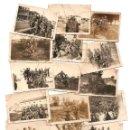 Militaria: LOTE 15 FOTOGRAFÍAS MILITARES EN EL REGIMIENTO DE TRANSMISIONES EN EL PARDO AÑO 1936, ORIGINAL ÉPOCA. Lote 168468860