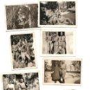 Militaria: LOTE 7 FOTOGRAFÍAS MILITARES EN LAS HUELGAS (BURGOS) FECHADAS ABRIL DE 1938, ORIGINAL ÉPOCA. Lote 168469336