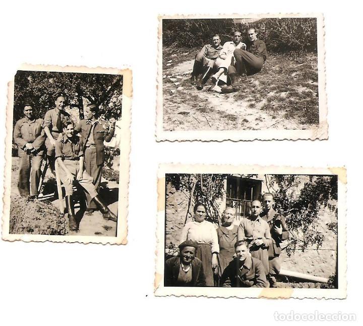 Militaria: LOTE 7 FOTOGRAFÍAS MILITARES EN LAS HUELGAS (BURGOS) FECHADAS ABRIL DE 1938, ORIGINAL ÉPOCA - Foto 6 - 168469336