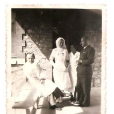 Militaria: MÉDICOS Y ENFERMERAS NAZIS EN EL HOSPITAL MILITAR ALEMÁN EN BURGOS AÑO 1938 - ORIGINAL ÉPOCA. Lote 168472292