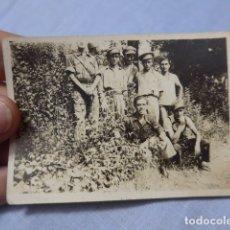 Militaria: * ANTIGUA FOTOGRAFIA DE MILICIANOS DE VALENCIA CON THALMAN, ORIGINAL, REPUBLICANOS. GUERRA CIVIL. ZX. Lote 168693720