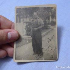 Militaria: * ANTIGUA FOTOGRAFIA DE MILICIANO DE CUERPO EJERCITO TREN, ORIGINAL, REPUBLICANO. GUERRA CIVIL. ZX. Lote 168693928
