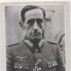 Militaria: FOTOGRAFÍA DIVISIÓN AZUL, GENERAL MUÑOZ GRANDES. 8,50 X 12 CM ALTLANTIC. Lote 168723160