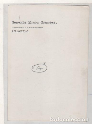 Militaria: Fotografía división Azul, General Muñoz Grandes. 8,50 x 12 cm Altlantic - Foto 2 - 168723160