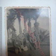 Militaria: FOTOGRAFÍA ANTIGUA ORIGINAL. SOLDADOS. MILITARES. (6 X 9 CM). Lote 168791116