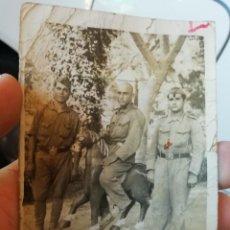 Militaria: ANTIGUA FOTO FOTOGRAFIA MILITAR SOLDADOS GUERRA CIVIL. Lote 169026984