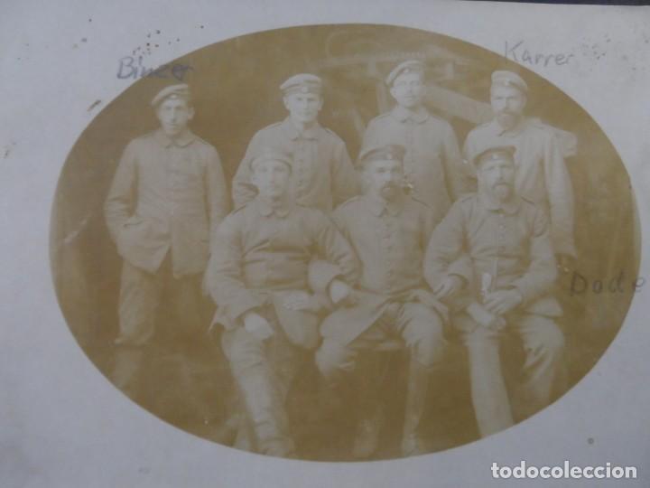 SOLDADOS IMPERIALES ALEMANES CON SUS NOMBRES. II REICH. AÑOS 1914-18 (Militar - Fotografía Militar - I Guerra Mundial)