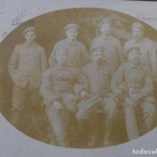 Militaria: SOLDADOS IMPERIALES ALEMANES CON SUS NOMBRES. II REICH. AÑOS 1914-18. Lote 169213728