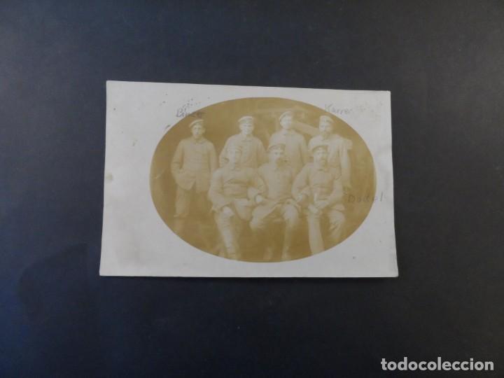 Militaria: SOLDADOS IMPERIALES ALEMANES CON SUS NOMBRES. II REICH. AÑOS 1914-18 - Foto 2 - 169213728