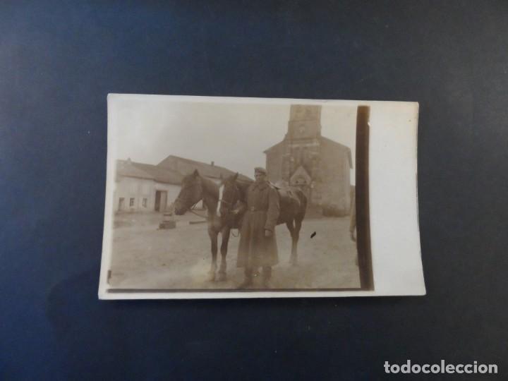 Militaria: SOLDADO IMPERIAL ALEMAN CON CABALLOS EN BELGICA. II REICH. AÑOS 1914-18 - Foto 2 - 169221064