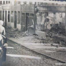 Militaria: FOTO ORIGINAL TROPAS ALEMANAS ENTRANDO EN CIUDAD II GUERRA MUNDIAL. Lote 169281328