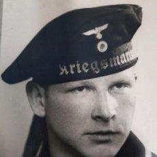 Militaria: FOTO ORIGINAL MARINERO ALEMAN KRIEGSMARINE II GUERRA MUNDIAL. Lote 169292944