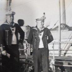 Militaria: FOTO ORIGINAL MARINOS ALEMANES DE LA KRIEGSMARINE II GUERRA MUNDIAL. Lote 169311616