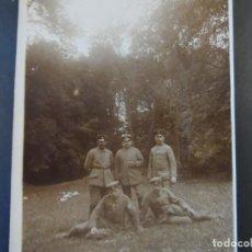 Militaria: SOLDADOS IMPERIALES ALEMANES EN UN BOSQUE. II REICH. AÑOS 1914-18. Lote 169314076