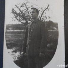Militaria: SOLDADO IMPERIAL ALEMAN CASADO CERCA DE UN RIO. II REICH. AÑOS 1914-18. Lote 169314904