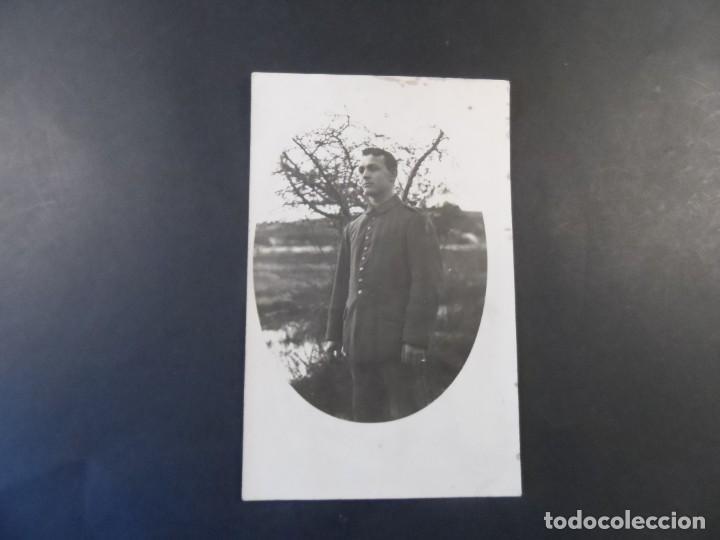 Militaria: SOLDADO IMPERIAL ALEMAN CASADO CERCA DE UN RIO. II REICH. AÑOS 1914-18 - Foto 2 - 169314904