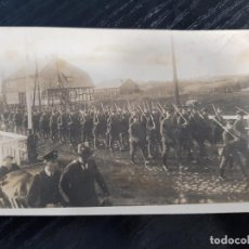 Militaria: FOTO ORIGINAL SOLDADOS ALEMANES MARCHANDO I GUERRA MUNDIAL. Lote 169315220