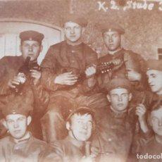 Militaria: FOTO ORIGINAL SOLDADOS ALEMANES I GUERRA MUNDIAL. Lote 169396604