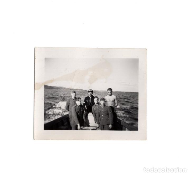 FOTOGRAFÍA SOLDADOS ALEMANES PANZER, WHERMACH 1942 - 6,5 X 5,5 (Militar - Fotografía Militar - II Guerra Mundial)