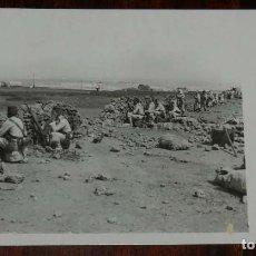 Militaria: POSTAL FOTOGRAFICA DE CAMPAÑA MELILLA, J.C. MADRID, SERIE 1ª N. 5, UNA AVANZADA, NO CIRCULADA.. Lote 169633304