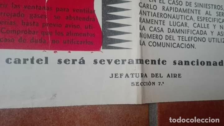 Militaria: CARTEL DEFENSA PASIVA GUERRA CIVIL. - Foto 4 - 169644224