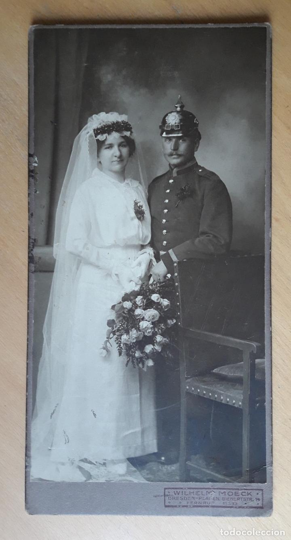 MILITAR ALEMÁN - GRAN GUERRA- (Militar - Fotografía Militar - I Guerra Mundial)