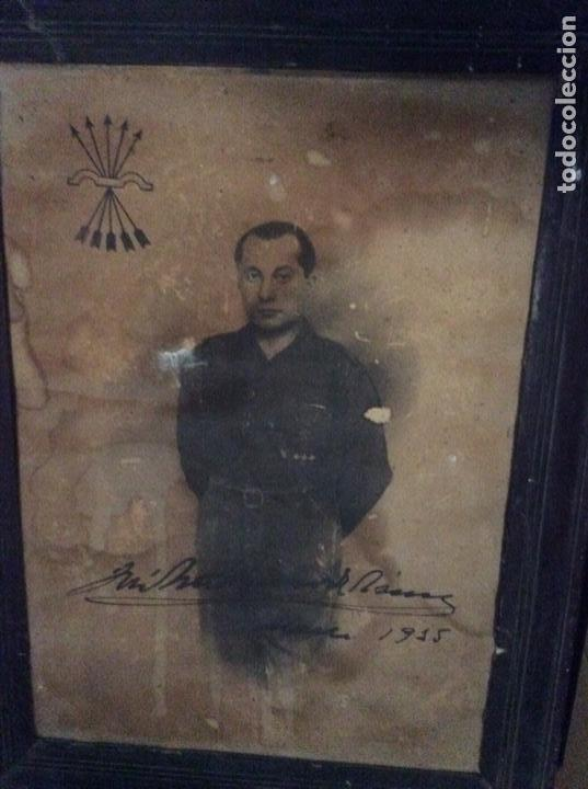 JUAN ANTONIO PRIMO DE RIVERA (Militar - Fotografía Militar - Guerra Civil Española)