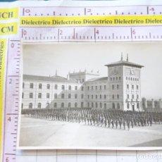 Militaria: FOTO FOTOGRAFÍA MILITAR. SOLDADOS MILITARES ACADEMIA MILITAR DE ZARAGOZA. 1779. Lote 169826340
