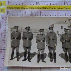 Militaria: FOTO FOTOGRAFÍA MILITAR. SOLDADOS MILITARES ALTO RANGO. 1780. Lote 169826408