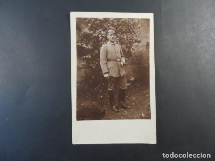 Militaria: SOLDADO IMPERIAL ALEMAN CON PURO Y PASADOR CRUZ DE HIERRO. II REICH. AÑOS 1914-18 - Foto 2 - 170100436