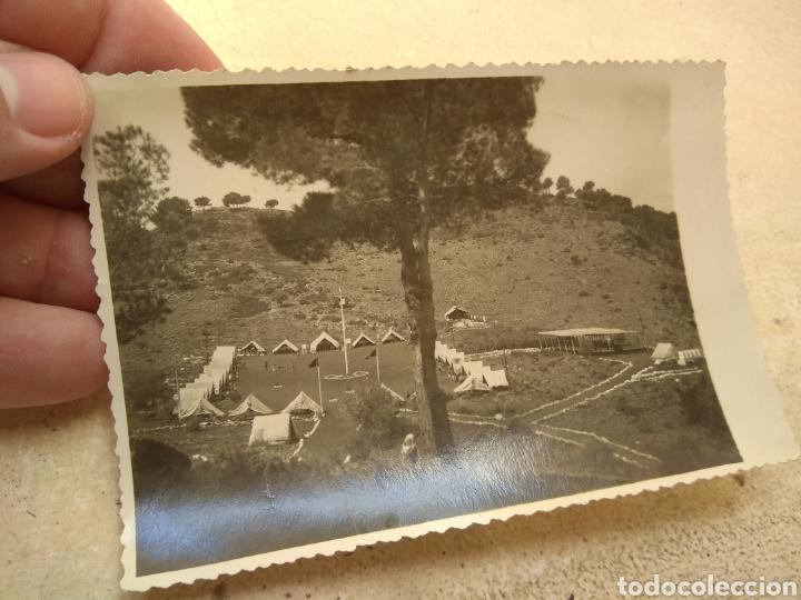 Militaria: Pareja de Fotografías Frente Juventudes - Campamento Jaime I - Serra - años 40 - - Foto 5 - 170186856