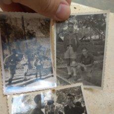 Militaria: LOTE FOTOGRAFÍAS FRENTE JUVENTUDES. Lote 170187269