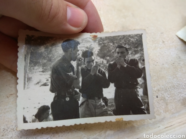 Militaria: Lote Fotografías Frente Juventudes - Porto Cristo - Mallorca 1947 - - Foto 5 - 170187269