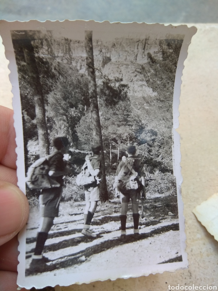 Militaria: Lote Fotografías Frente Juventudes - Porto Cristo - Mallorca 1947 - - Foto 4 - 170187269
