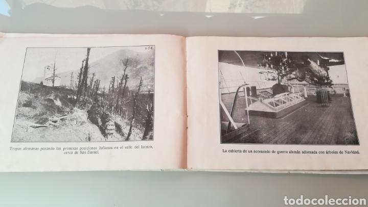 Militaria: Libreto de fotografías I Guerra Mundial - Foto 2 - 170351333