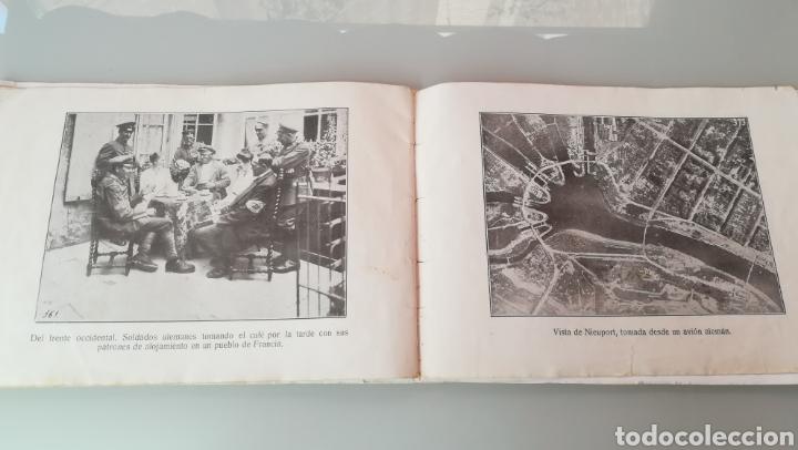 Militaria: Libreto de fotografías I Guerra Mundial - Foto 5 - 170351333