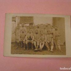 Militaria: FOTOGRAFIA DE MILITARES FRANCESES. I GUERRA MUNDIAL. 14X9 CM. . Lote 170385064