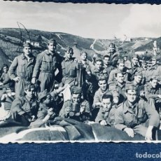 Militaria: FOTOGRAFIA TROPA MELILLA CEUTA TERCIO CONJUNTO FOT ARBONA CEUTA 6,5X8,5CMS. Lote 170399092