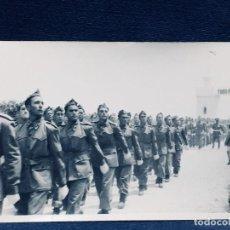 Militaria: TROPA DESFILE CUARTEL TODO POR LA PATRIA TERCIO MELILLA CEUTA AÑOS 40 50 9X14CMS. Lote 170399408