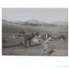 Militaria: CAMPAÑA DEL RIF.- ZOCO DEL CAMPAMENTO, ENERO DE 1912 - MEDIDAS 17,5X12 CM. Lote 170429096
