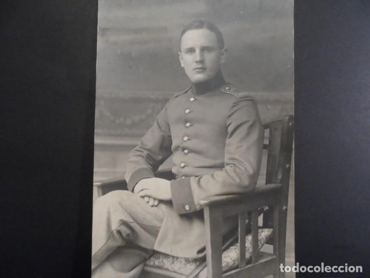 SOLDADO IMPERIAL ALEMAN CON BAYONETA REGIMIENTO 103. II REICH.CHEMITZ-SAJONIA. AÑO 1918 (Militar - Fotografía Militar - I Guerra Mundial)